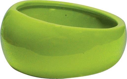 Miska LIVING WORLD ergonomická L zelená