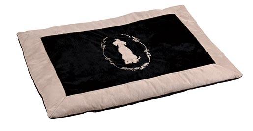 Pelíšek pro psy Trixie King of Dogs černo-béžová 70*50cm