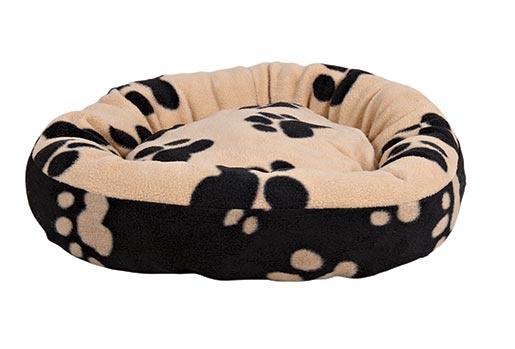 Pelíšek pro psy Trixie Sammy černo-béžová 50cm