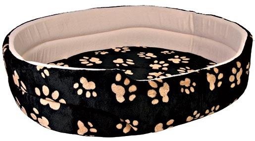 Pelíšek pro psy Trixie Charly černo-béžová 65*55cm