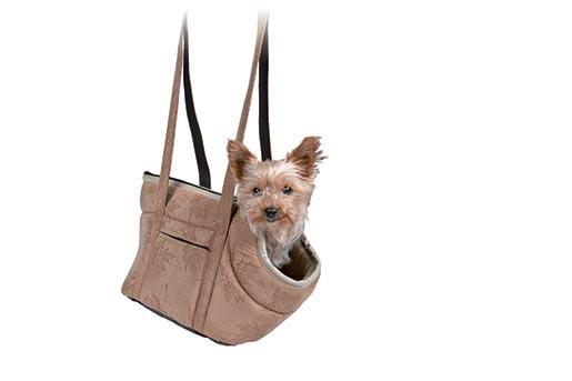 Taška přenosná pro psy Trixie Vincent 25*23*28cm hnědá
