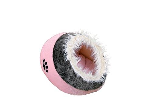 Pelíšek pro psy Trixie Minou růžovo-šedá 35*26*41cm
