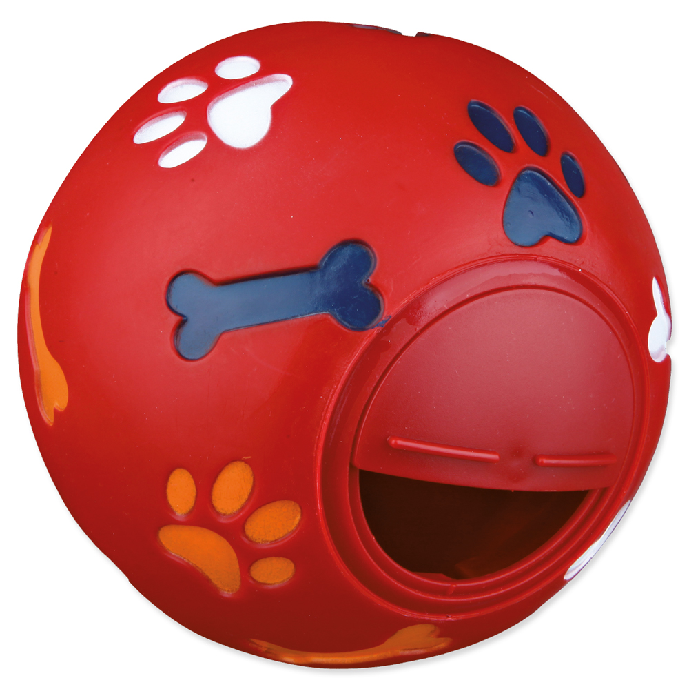 Hračka pro psy Trixie míč na pamlsky 7cm