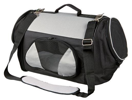 Taška přenosná pro psy Trixie Tamica 27*29*54cm černo-šedá