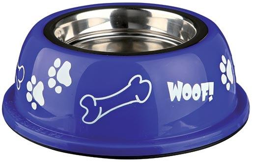 Miska nerezová pro psy Trixie v plastové obalu 0.25l*11cm