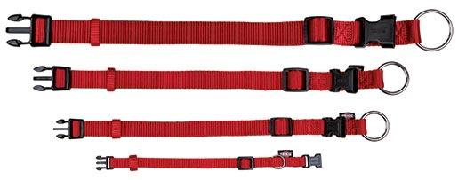 Obojek pro psy Trixie Premium S-M červený