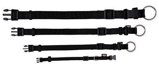 Obojek pro psy Trixie Premium S-M černý