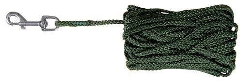 Vodítko pro psy Trixie předváděcí zelené 15m*5mm