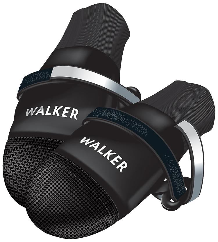 Boty pro psy Trixie Walker Care Comfort černé 2ks XL