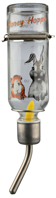 Napáječka skleněná pro hlodavce Trixie Honey & Hopper 125ml