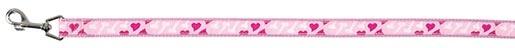 Vodítko pro psy Trixie RoseHeart M-L 1m*20mm růžová