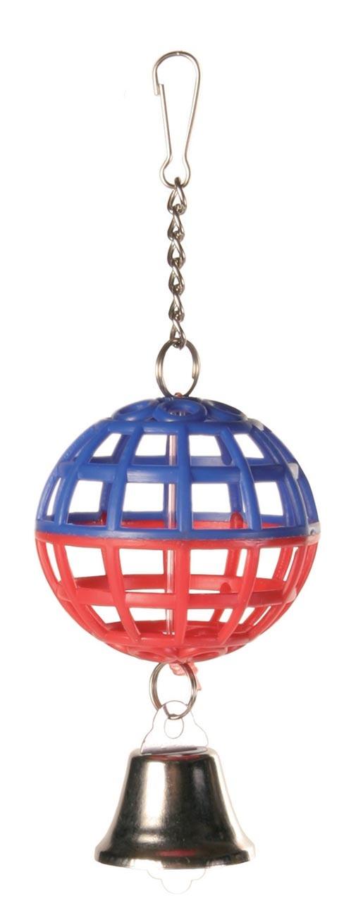 Hračka mřížovaný míč se zvonkem Trixie 7cm
