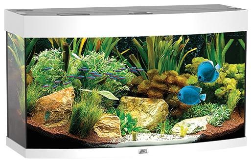 Akvárium set JUWEL Vision 180 bílé 180l