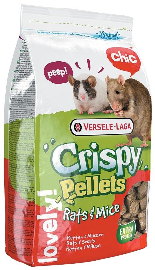 Krmivo VERSELE-LAGA Crispy pelety pro potkany a myši 1kg