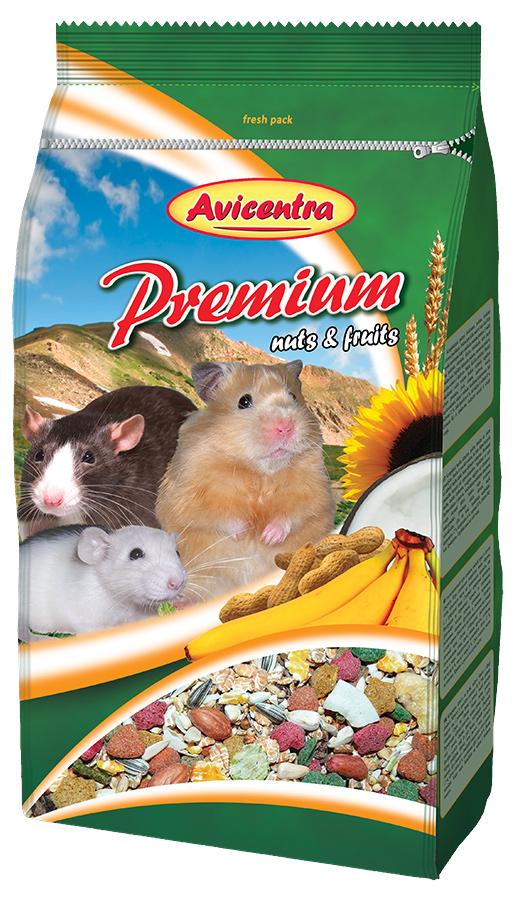 Krmivo AVICENTRA premium pro křečky 1kg
