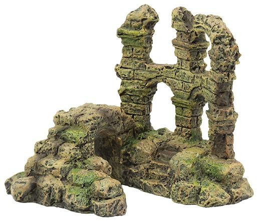 Aqua Excellent Dekorace Zřícenina hradu 11,5 cm