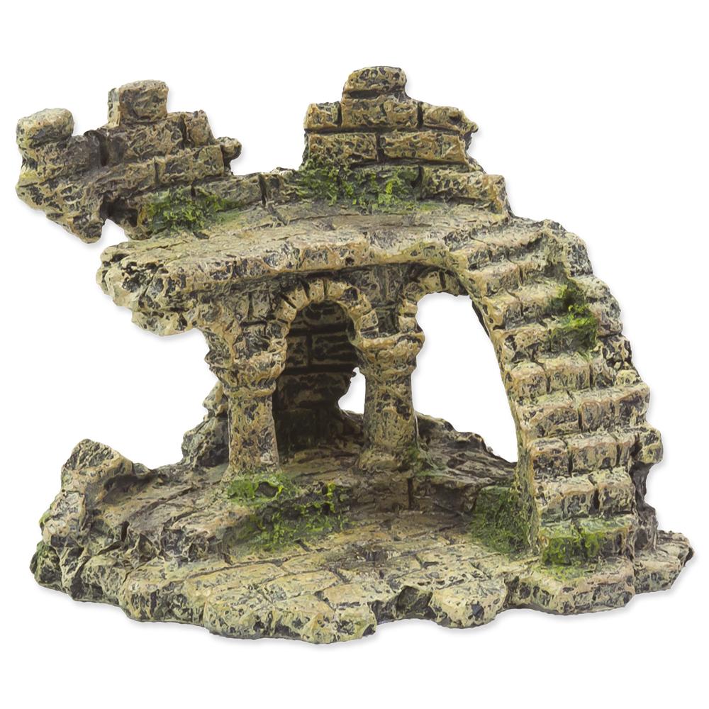 Aqua Excellent Dekorace Zřícenina hradu 13 cm