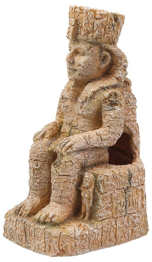 Aqua Excellent Dekorace Egyptská socha 10,3 cm