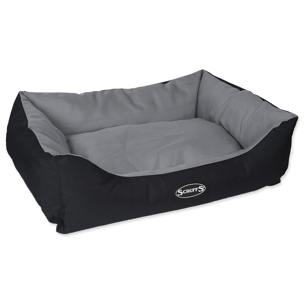 Pelíšek SCRUFFS Expedition Box Bed šedý 75cm