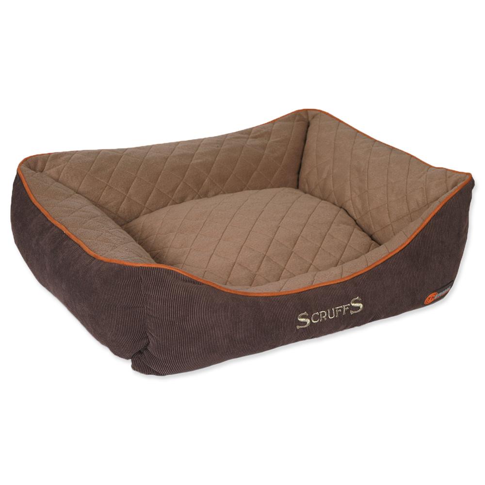 Pelíšek SCRUFFS Thermal Box Bed hnědý 75cm