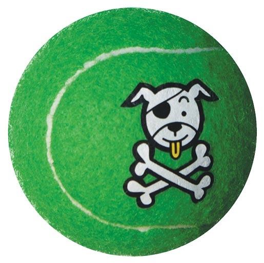 Hračka ROGZ tenisák Molecules zelený M