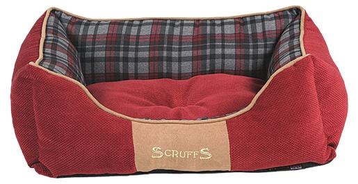 Pelíšek SCRUFFS Highland Box Bed červený 50cm