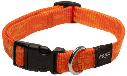 Obojek ROGZ Alpinist oranžový M