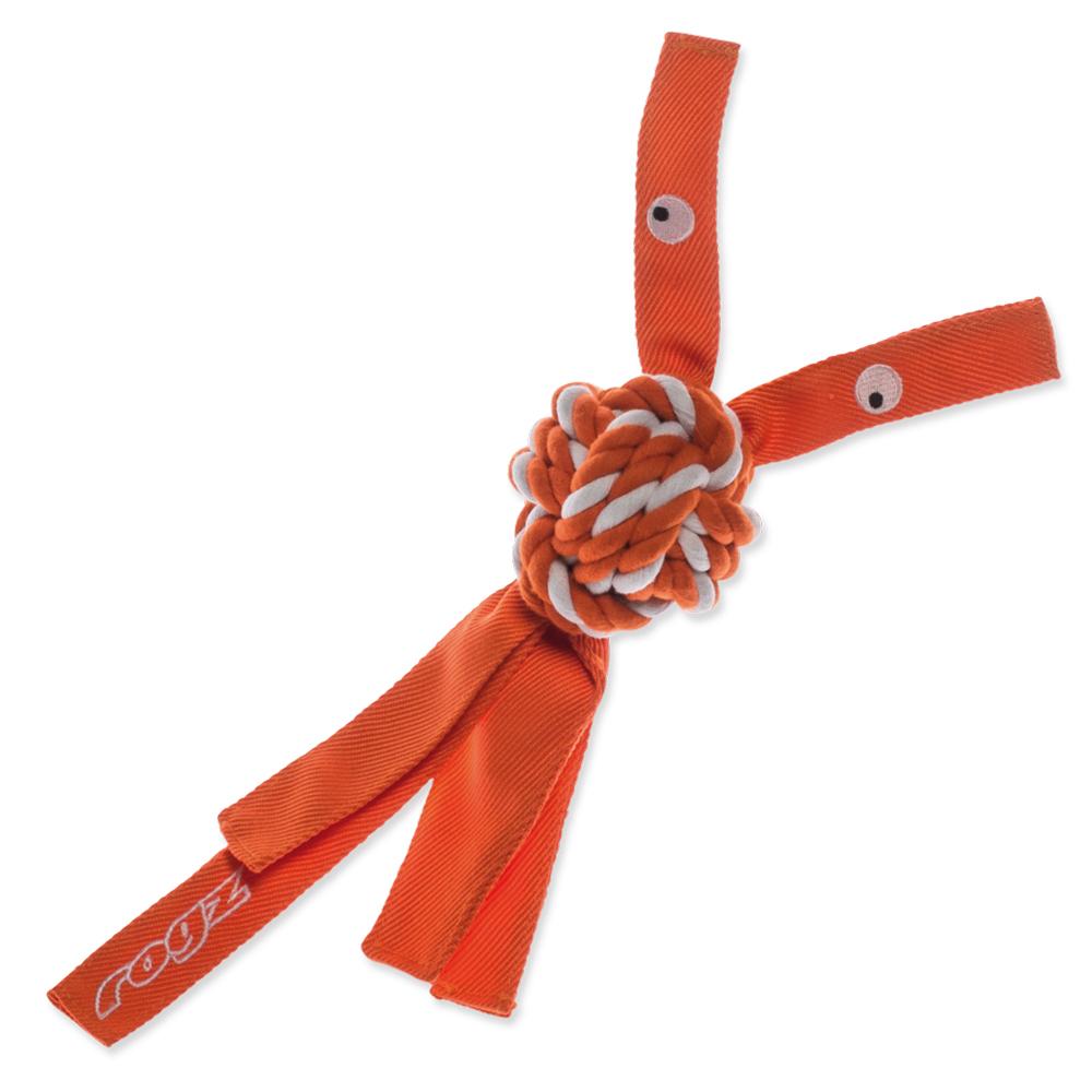 Hračka ROGZ CowBoyz provazová oranžová L