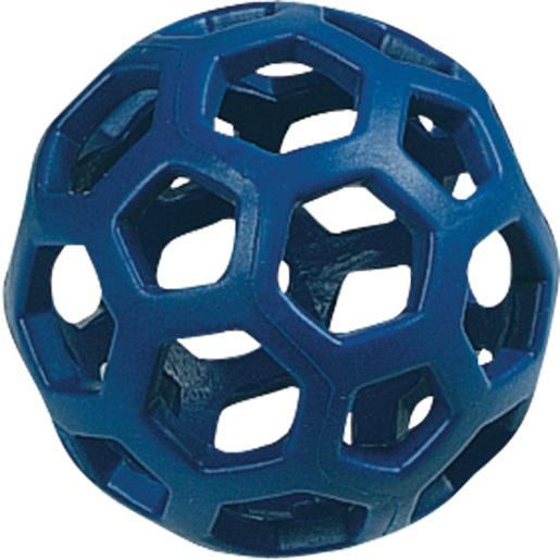 Hračka FLAMINGO míč gumový dírkatý 9 cm
