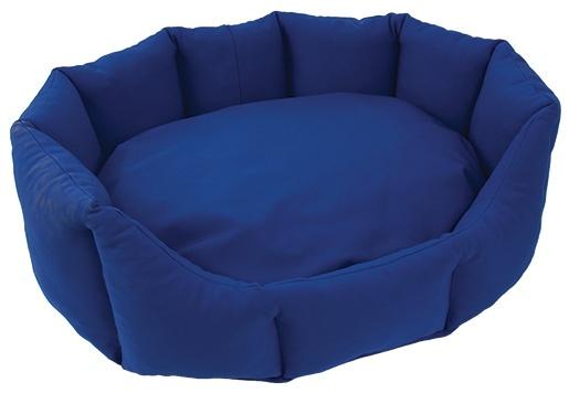 Pelech DOG FANTASY Koruna softshell modrý 50 cm
