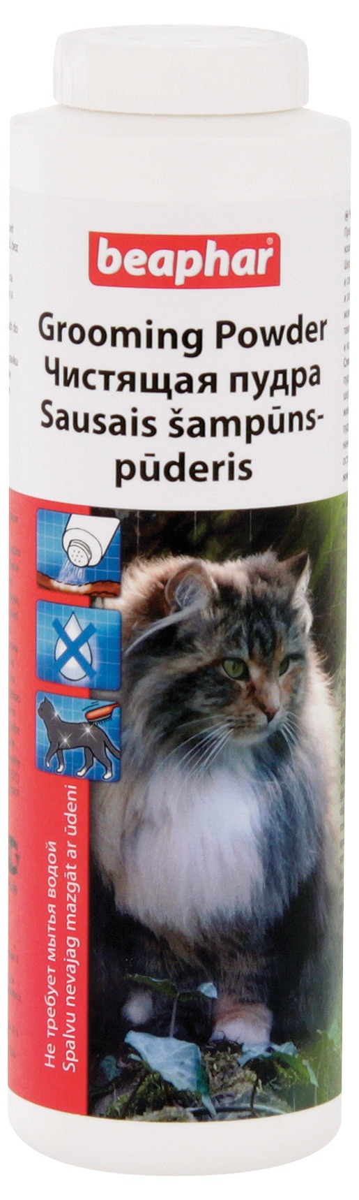 Suchý šampon Grooming pro kočky Beaphar 150g