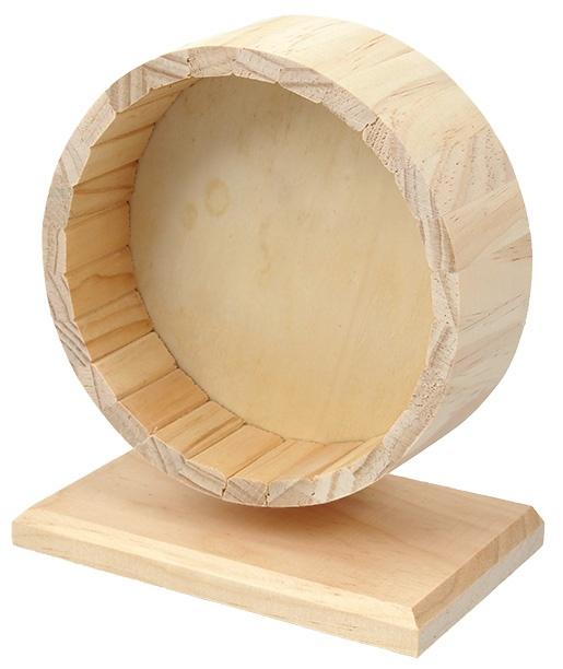 Kolotoč SMALL ANIMAL dřevěný 17 cm