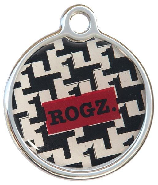 Známka ROGZ Metal Hound Dog kovová L