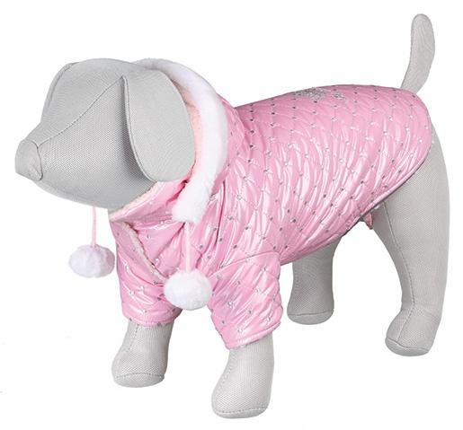 Bunda pro psy Trixie S Dog Princess růžová 36cm