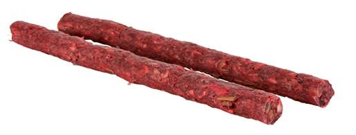 Tyčinka chroupací pro psy Trixie 9-10mm*12cm červená