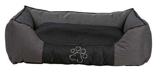 Pelíšek pro psy Trixie Dante šedo-černá 90*80cm