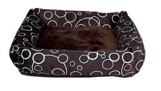 Pelíšek pro psy Trixie Marino hnědá 55cm
