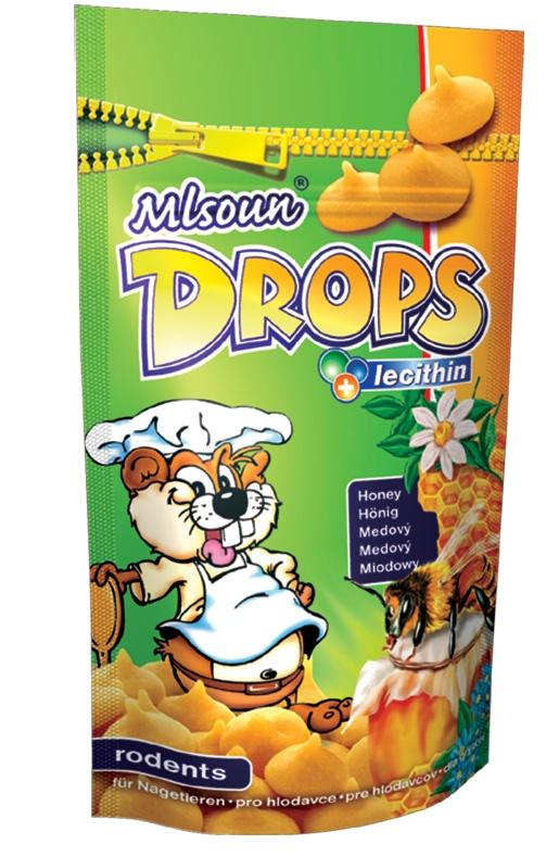 Mlsoun Dropsy DAFIKO medové 75g