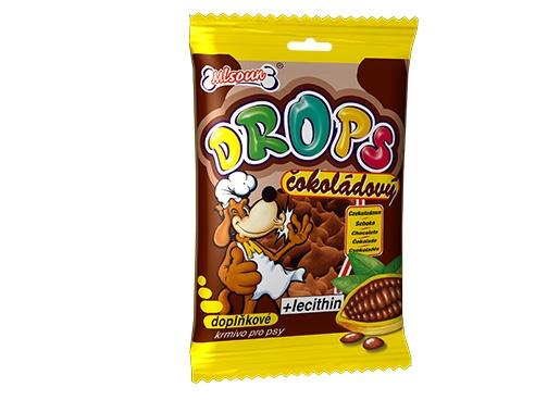 Mlsoun Dropsy DAFIKO čokoládové 75g