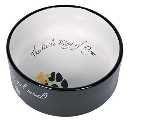 Keramická miska pro psy Trixie The little King of Dogs 600ml*16cm