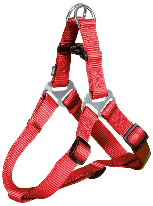 Postroj pro psy Trixie Premium červený 80-100cm*25mm