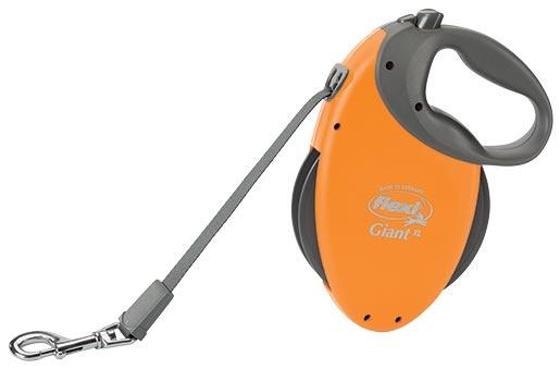 Vodítko FLEXI Giant oranžové XL