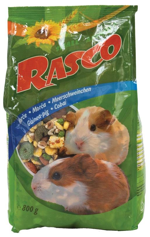 Krmivo premium Rasco morče 800g