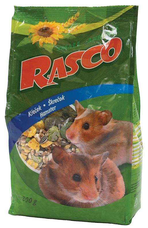 Krmivo RASCO premium pro křečky 800g