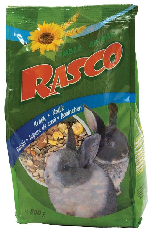 Krmivo RASCO premium pro králíky 800g