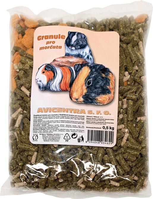 Granule AVICENTRA pro morčata 500g
