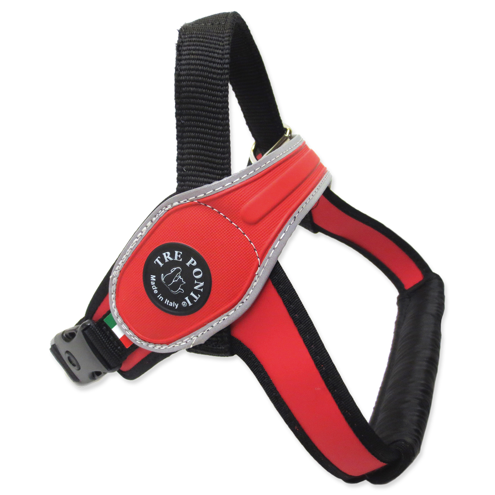 Treponti Postroj TRE PONTI reflexní od 30 do 40 kg červený