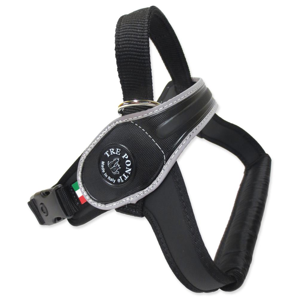 Treponti Postroj TRE PONTI reflexní od 30 do 40 kg černý