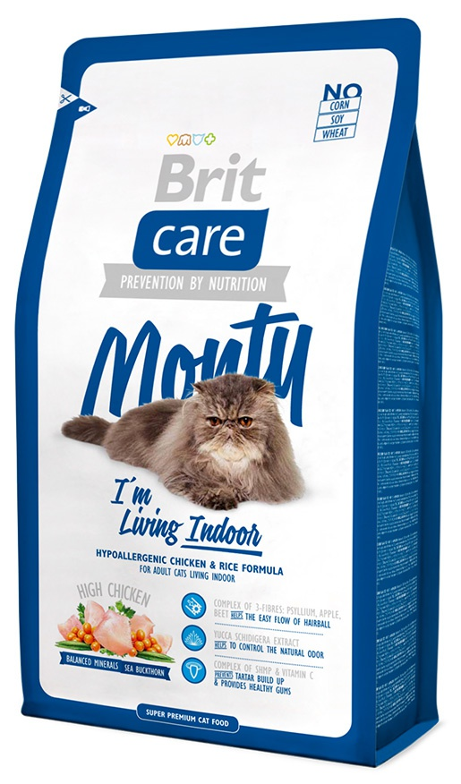 BRIT Care Cat Monty I'm Living Indoor 2kg