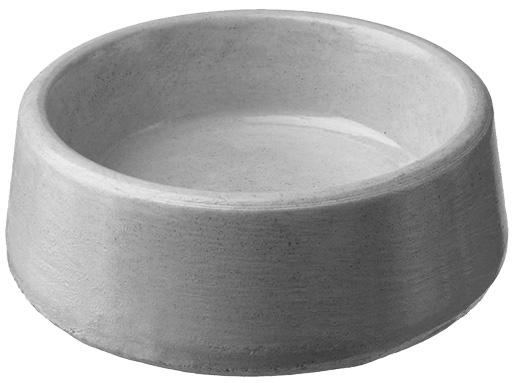 Miska BE-MI betonová kulatá 0,045l